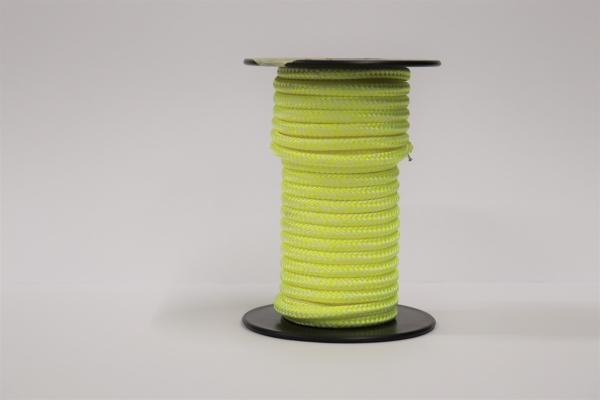 LIROS Magic Pro 5mm Restposten: Weiß-Leuchtgelb 8,80m