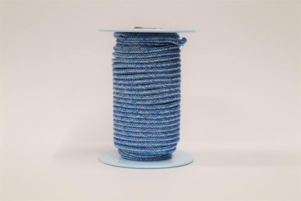 LIROS Magic Pro 6mm Restposten: Weiß-Blau 6,5m