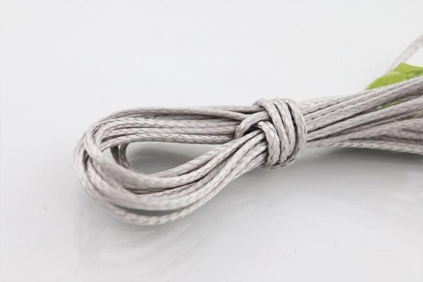 LIROS DePower Line 4,5mm Restposten: Silber 9m