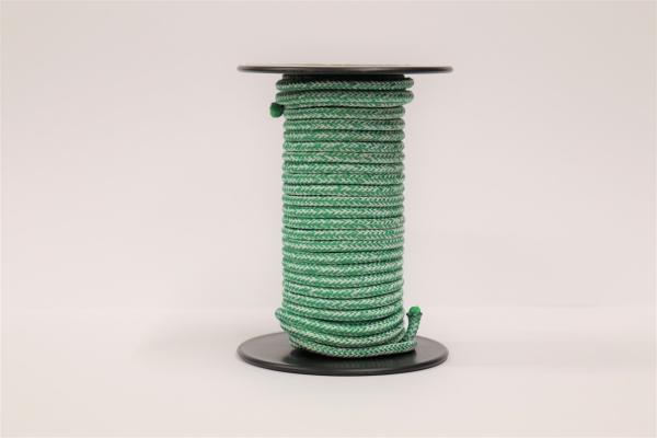 LIROS Magic Pro 4mm Restposten: Weiß-Grün 9,7m